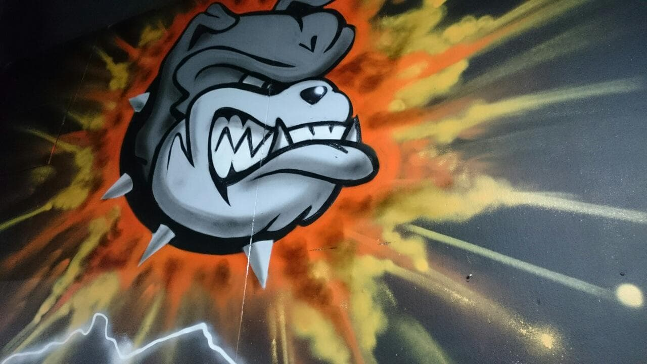 latest news header image Bulldog logo